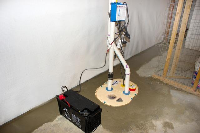 Basement Waterproofing in Lebanon, New Hampshire