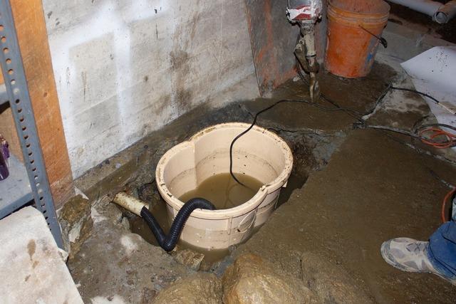 Basement Waterproofing in Rumney, New Hampshire.