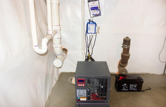 Basement Waterproofing in Waterbury, Vermont.