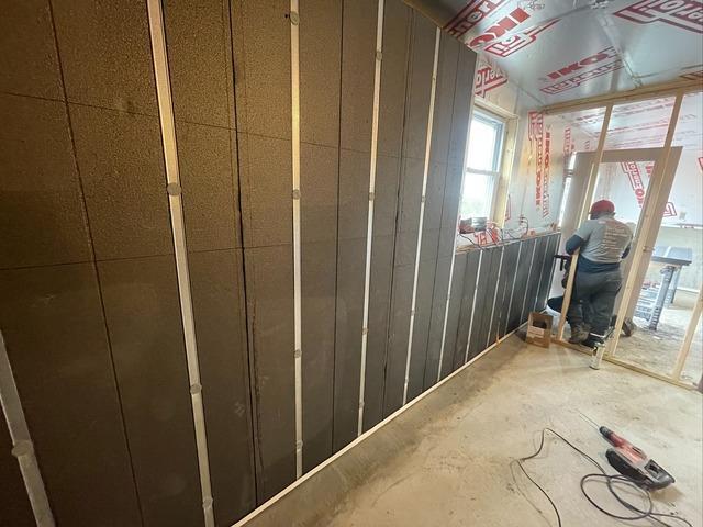 Basement Waterproofing & Insulation in Enosburg Falls, Vermont, with Matt Clark's Northern Basement Systems.
