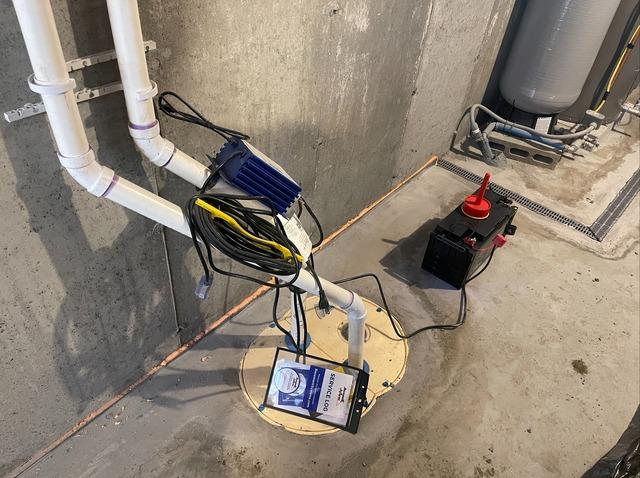 Basement Waterproofing in Dublin, New Hampshire, by Matt Clark's Northern Basement Systems.