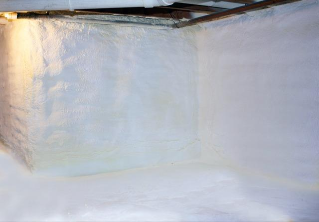 Crawlspace Encapsulation in Pownal, Vermont, by Matt Clark's Northern Basement Systems. - After Photo