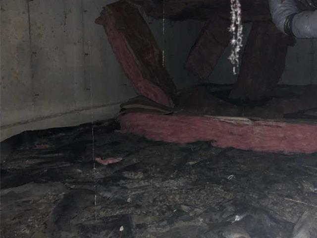 Crawlspace Encapsulation and Waterproofing in Hanover, New Hampshire, by Matt Clark's Northern Basement Systems.