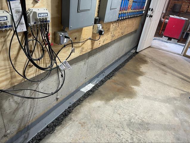 Custom-Designed Responsible Waterproofing in Keene, New Hampshire, by Matt Clark's Northern Basement Systems.