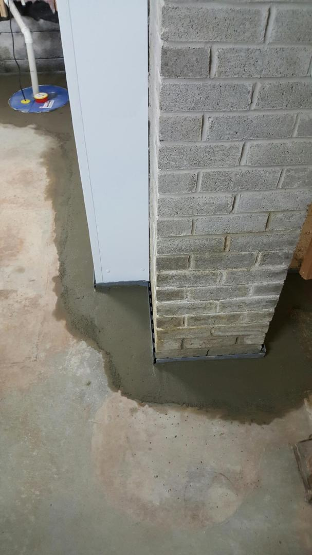 Dark Leaking Basement made Bright and Dry with WaterGuard,  BrightWall & SuperSump In Sudbury ON - After Photo