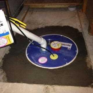 Upgraded Sump Pump in Naughton Ontario - After Photo