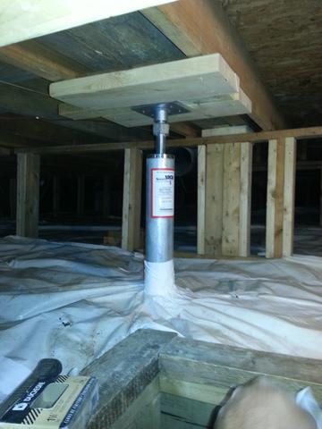 Sagging Floors in Englehart, ON - After Photo