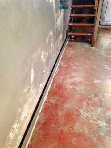 Wet and Flooded Basement Solved with DryTrak in Little Current, ON - After Photo