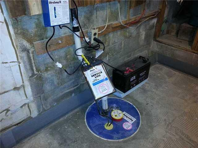 Open Sump Pit and Leaky Basement Corrected in Corbeil, ON