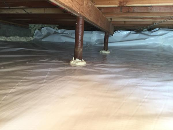 Crawl Space Encapsulation in Stevenson, CT - After Photo