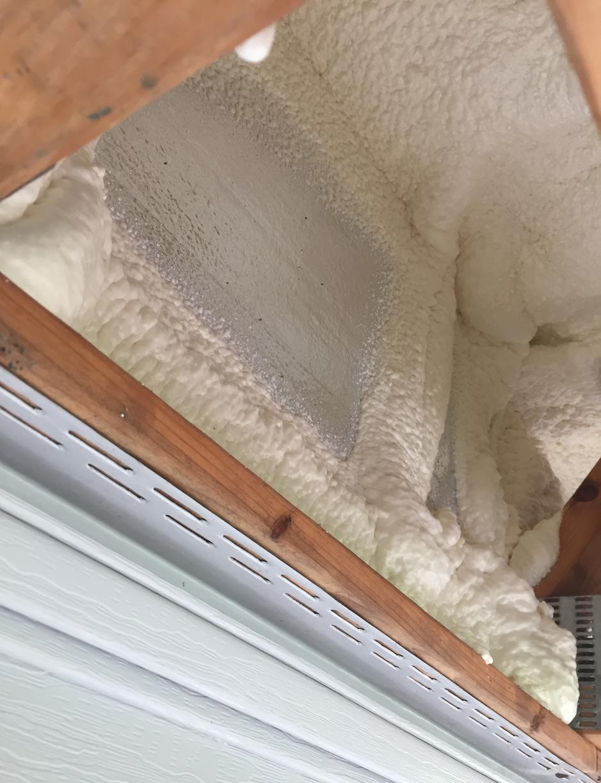 Spray Foam Cantilever Bay in Ellington, CT - After Photo