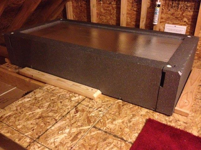 Hatch Cover Seals Around Attic Pull Down Stairs - After Photo