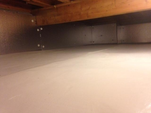 Crawl Space Transformation in Weston, CT