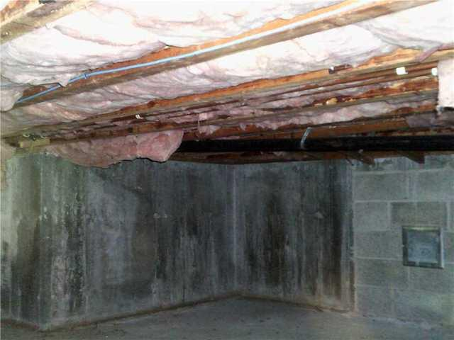 CleanSpace and SilverGlo Insulation in Wilton, CT - Before Photo