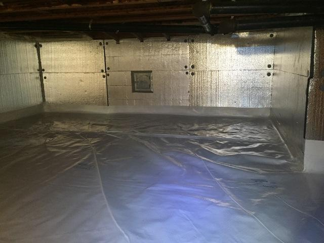CleanSpace and SilverGlo Insulation in Wilton, CT - After Photo