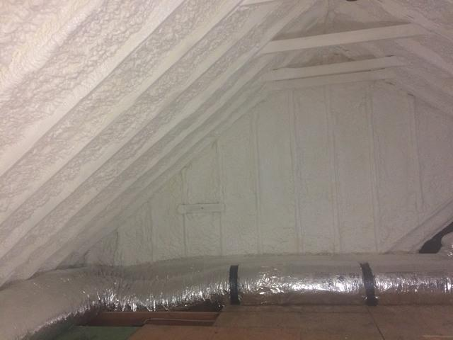 Spray Foam Insulation in Fairfield, CT