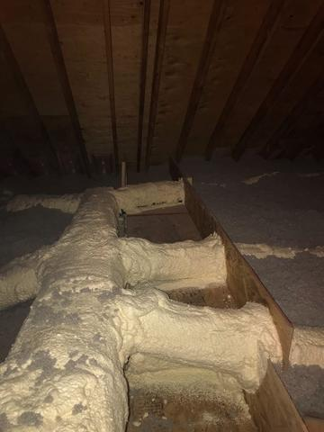 Attic Insulation and Air Sealing in Sandy Hook, CT