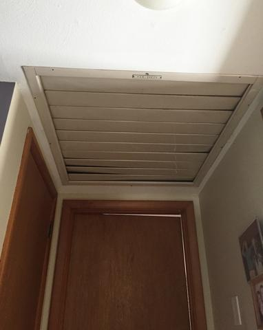 Attic Hatch Cover in Granby, CT - Before Photo