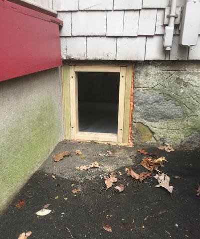 CleanSpace Vent Cover in Stamford, CT - Before Photo