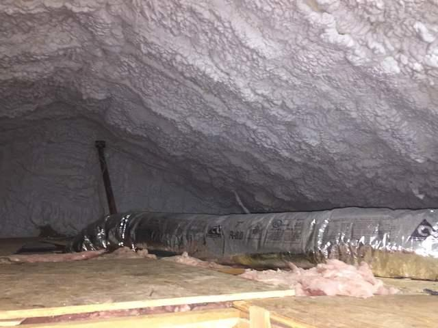 Attic insulation in Southbury CT