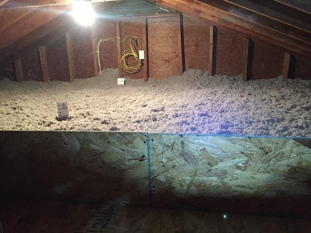 Upgraded Attic Insulation in Stratford