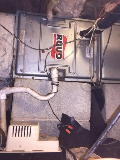 Furnace PTU - Cornelius NC - Before Photo