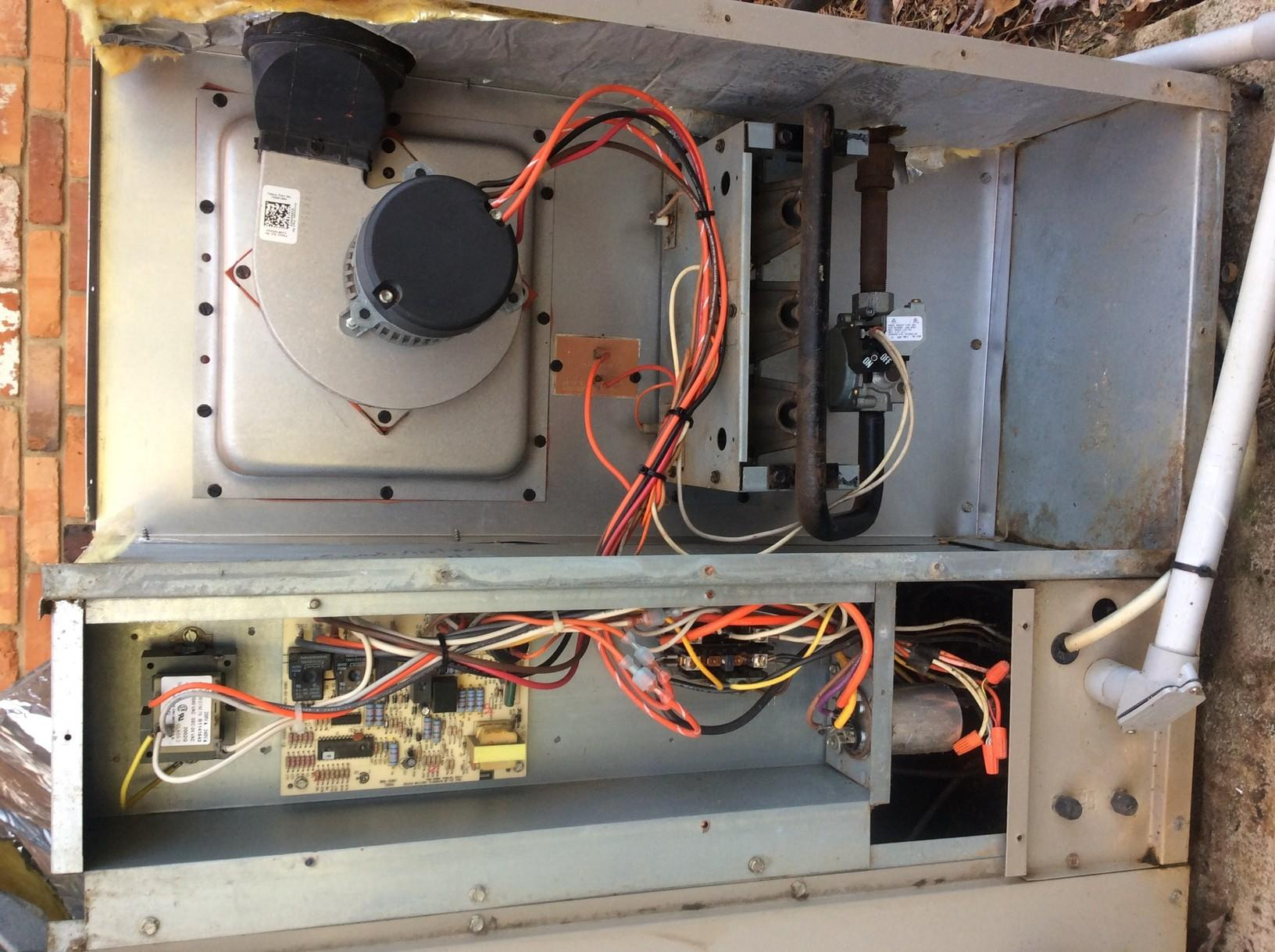 Heating System Precision Tune Up - Gastonia - After Photo