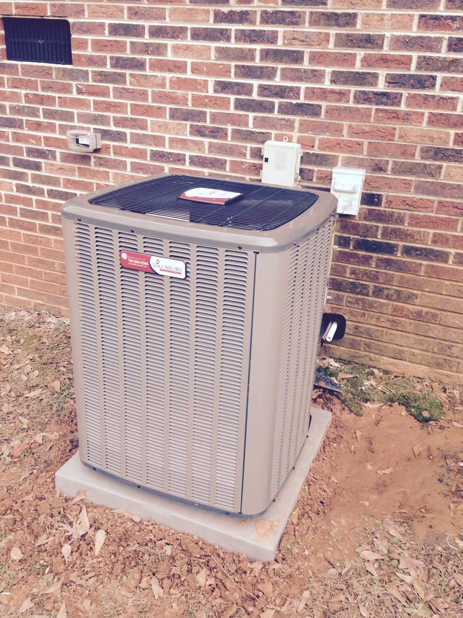 Heat Pump Replaced in Stanley, NC - After Photo