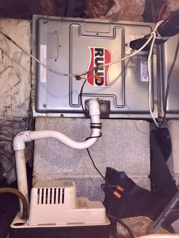Furnace PTU - Cornelius NC - After Photo