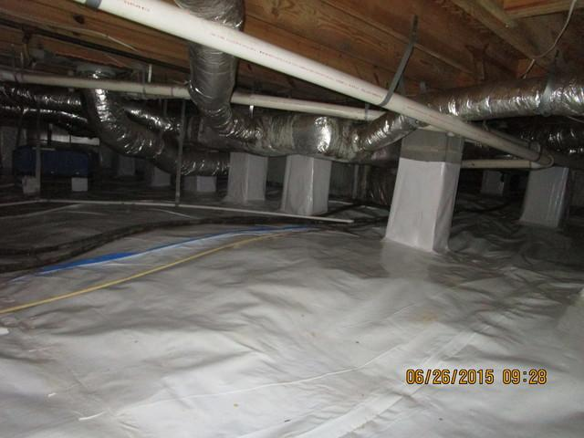 Before and After - Crawl Space - Belmont NC - After Photo