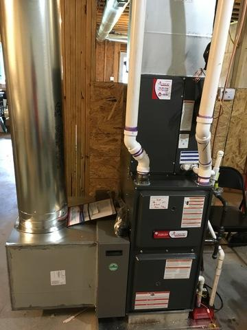 New Gas Heating and Air Conditioning system in Fort Mill