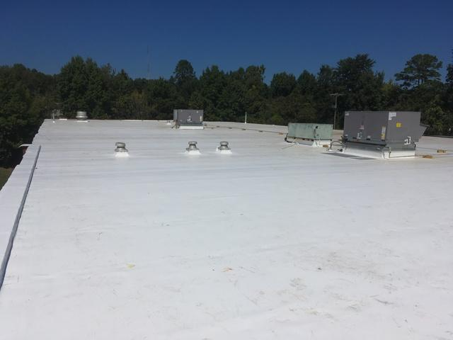 Commercial Roofing Job in Charlotte NC - Business Park