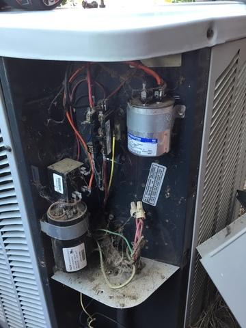 Heating Tune Up - Huntersville NC - Before Photo