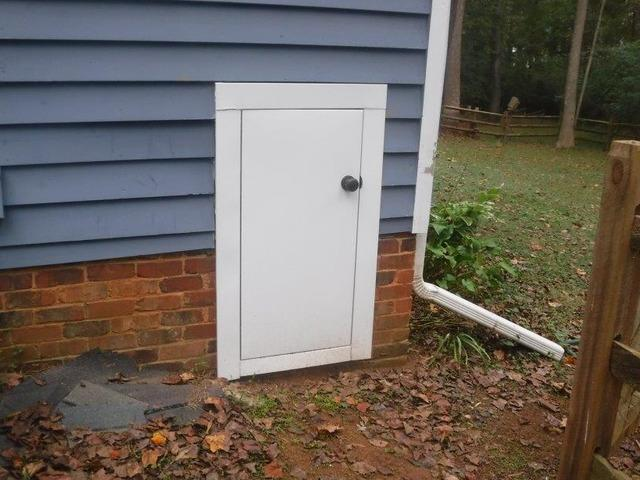 Crawlspace Door Replacement