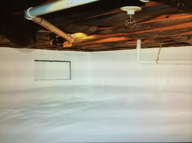 Crawlspace Encapsulation in High Shoals, NC Before & After