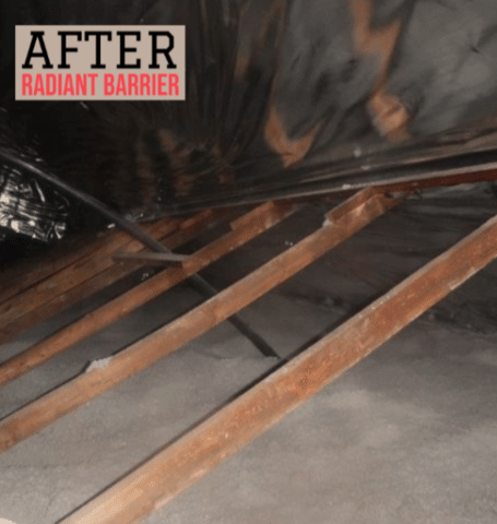Radiant Barrier for Attic