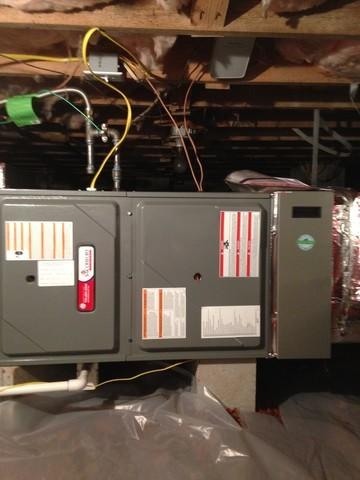 Furnace replacement in Gastonia