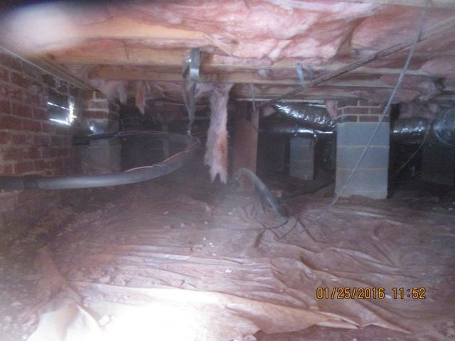 Gsm Services Before Amp After Photo Set Crawl Space Mold