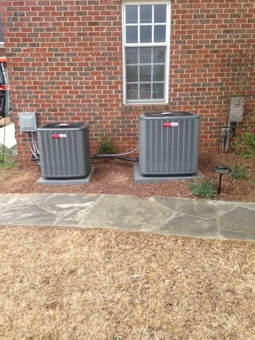 Replace and relocate outdoor units