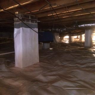 Crawl Space Insulation in Gastonia, NC