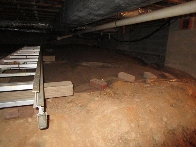 Crawl space encapsulation in Gastonia
