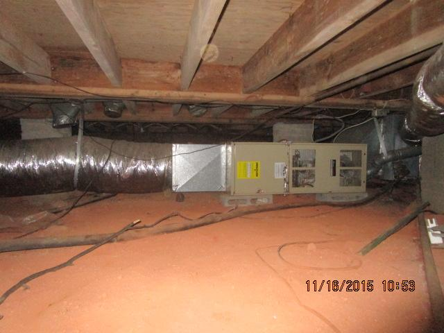 New Heating and Air / Duct work renovation