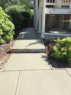 Concrete Delivery to Replace Annandale, NJ Walkways and Sidewalks - After Photo
