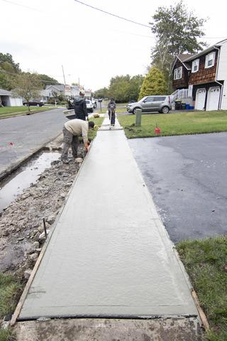 Concrete Replacement in Monroe Township, NJ - After Photo