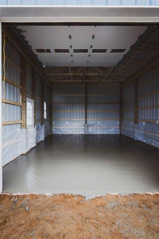 Concrete Delivery for New Garage Floor