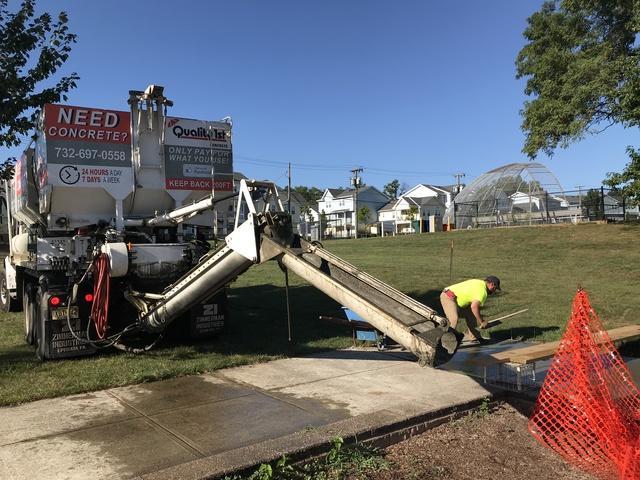 Concrete Pour In Perth Amboy, NJ