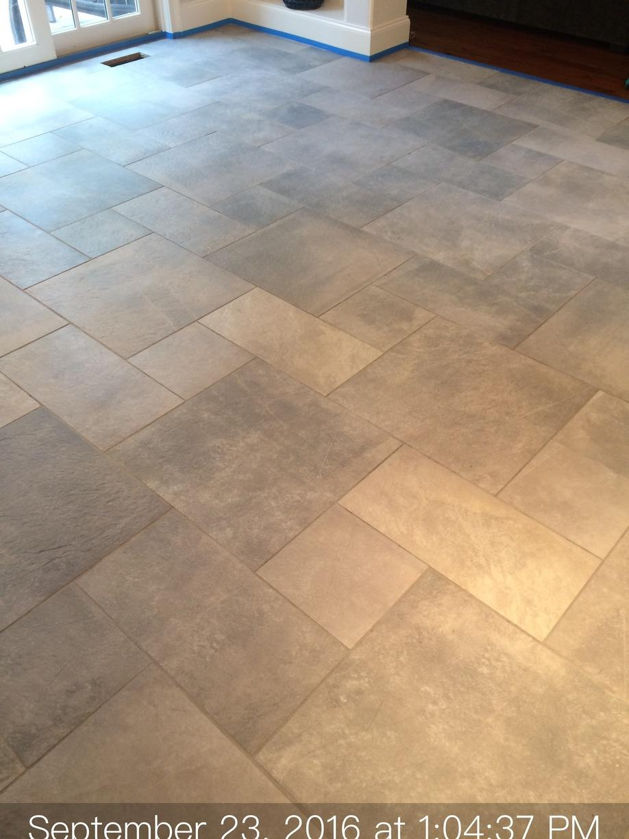 Slate Floor Cleaning in Westport, CT - After Photo