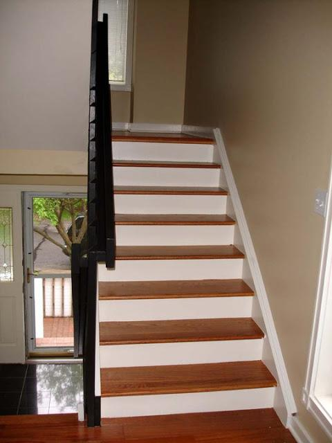 Painted Stairs in Stratford - After Photo