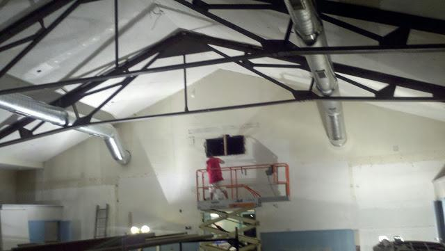 Kent, Connecticut Community Center Interior Painting Project - Before Photo