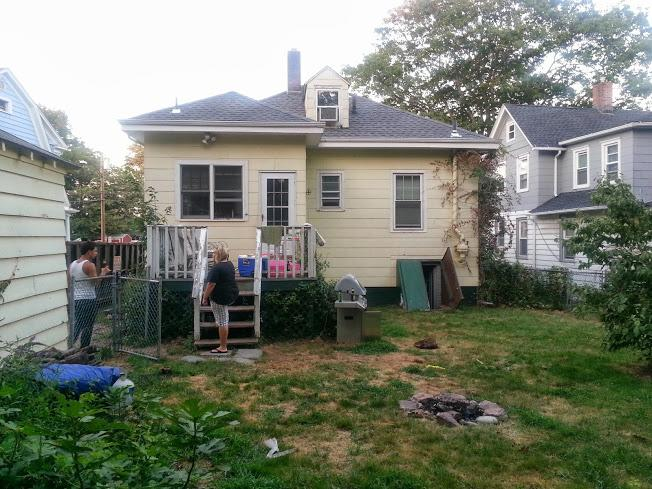 New Deck Construction in New Haven, CT - Before Photo